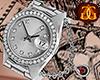 White Gold Watch [M]