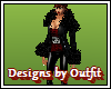 !o! Leather N Fur Coat