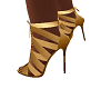 Sapato dourado