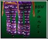 BBW Winter Pants Purple