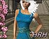 HRH Lace&Silk Blue