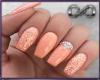 $ Peach Nails
