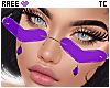 ®Tc. ❤ Glasses Purple