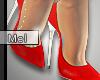 Mel*Flowery Heels