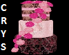 PinkRose Wedding Cake