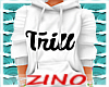 Trill White Hoodie (F)