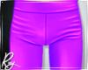 Violet Plastic Pants