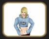 Caz blue hoodie