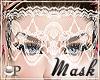 Gigi White Lace Mask