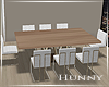 H. Modern Dining Table