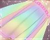 Rainbow Glitter Skirt