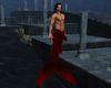 'Merman Tail Red