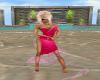 LS Pink Swirls Dress