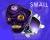 Poppin' Purple Skull-Sm