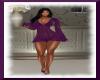 Transparent Dress Purple