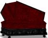 DrkRed Cpl Coffin Couch