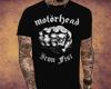 RR| V Motorhead t-shirt