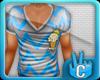 [LF] Icy V Neck - Blue