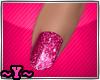 ~Y~Sparkling Pink Nails