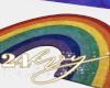 Rainbow Power Rug