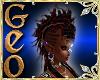 Geo Mohawk blackred f