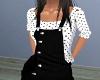 Corduroy-PolkaDot Outfit
