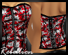 Rb Red Rebel Corset