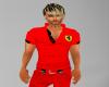 Ferrari polo red