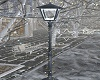 WInter Street Lamp