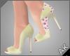 ~AK~ Sakura Heels: Cream