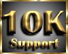 © 10K Support Sticker
