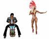 Tiki Drum Hula Dance