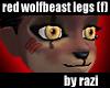 Red Wolfbeast Legs (F)