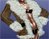 Boss~Suede Coat Beige