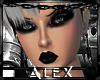 *AX*Sandra Chrome Black