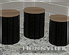 H. Kitchen Canisters