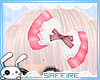 Kawaii Frilled Bow Pink