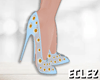 Enchanted Heels Blue