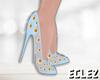 Enchanted Heels Blue