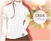 T-Neck Sweater White
