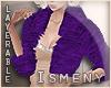 [Is] Fur Purple Coat