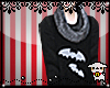 Batty Sweater + Scarf