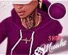 M! Drippin Hoodie-Purple