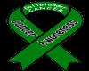 Cancer Ribbon GREEN