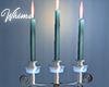 Christmas Wall Candles