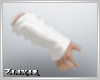 [Zlix]White Arm warmers