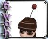 [6] Red mog pompom
