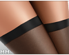 Sheer Stockings Blk - RL
