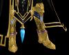 Z Gold Paladin Boots