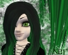 Black/green designer